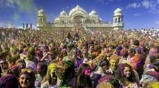 Protecting the eyes during Holi