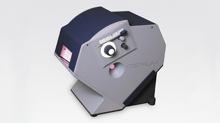 Cerium colorimeter