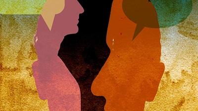 Multicoloured person