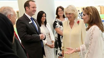 Camilla visits Moorfields Dubai
