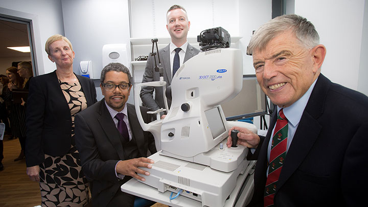 Doug Perkins and Specsavers Newport Optometrists