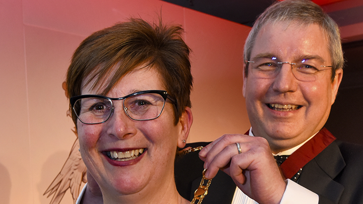 Fiona Anderson takes over as ABDO president from Peter Black
