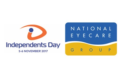 Independents Day and National Eye Care Group logos