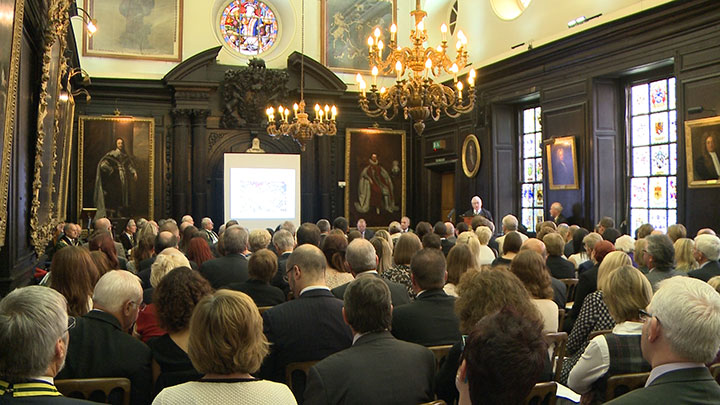 The Worshipful Company of Spectacle Makers networking reception