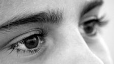eyes close-up