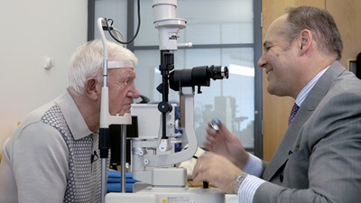 first amd bionic eye patient