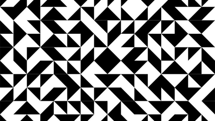 A high-contrast pattern