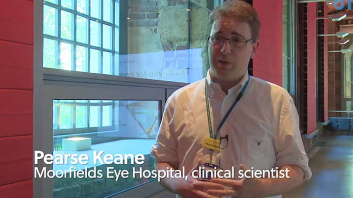 Moorfields Eye Hospital clinical scientist, Pearse Keane