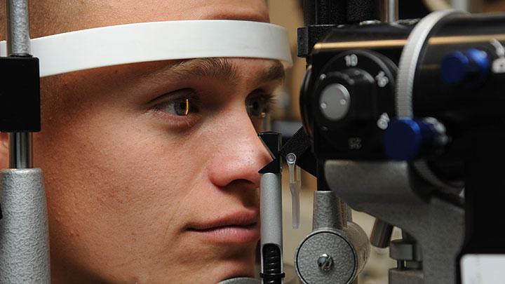 Eye exam