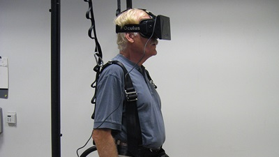 Virtual balance test effective for glaucoma patients