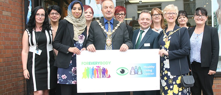 The Dudley Healthy Living Optician Scheme launch