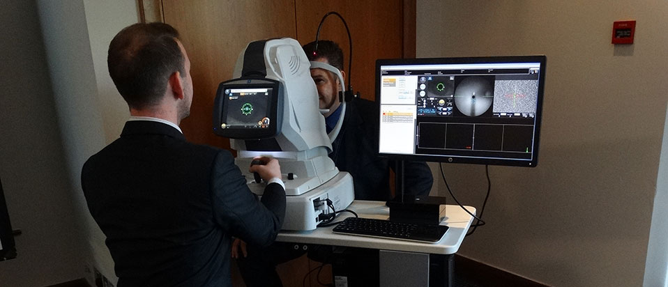 Leightons Opticians OCT