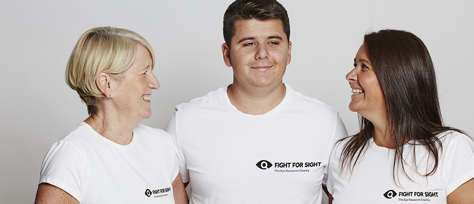 Fight for Sight Tommy Salisbury