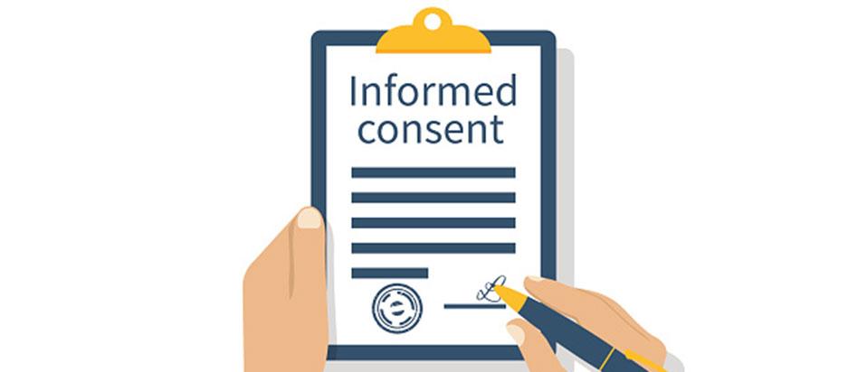 Informed content notice