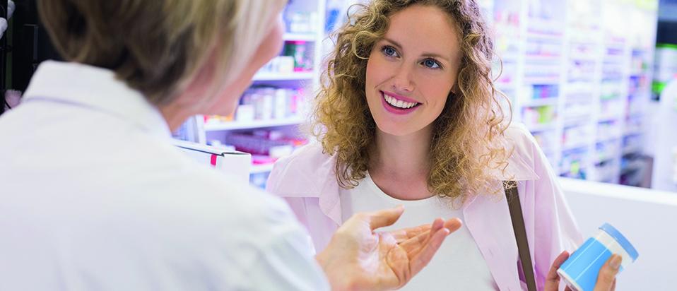 Pharmacy customer