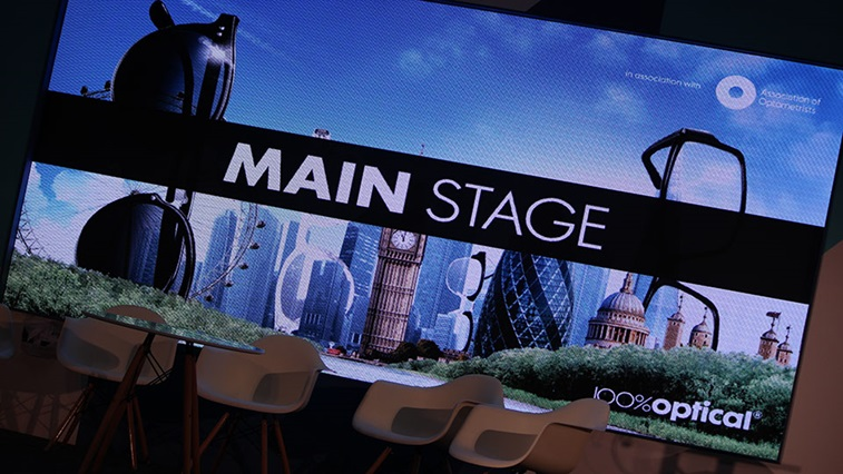 100% Optical 2017 main stage