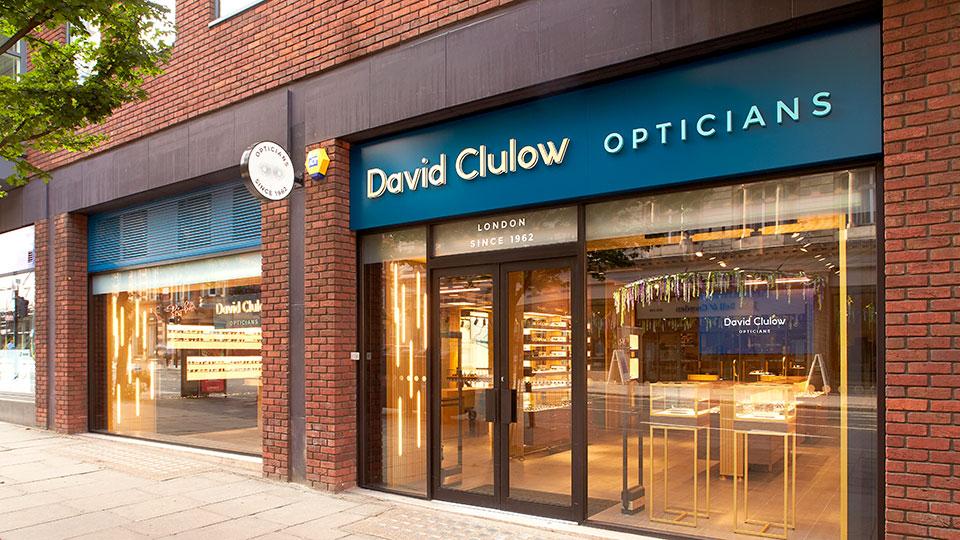David Clulow store exterior
