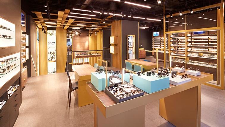 David Clulow store interior