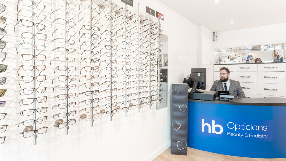 opticians reception