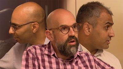 Richard Whittington, Rupesh Bagdai and Dharmesh Patel
