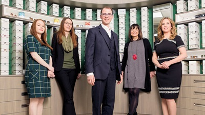 Martin Smith Opticians team