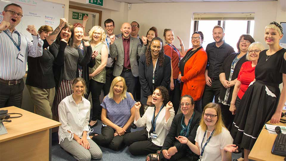 The Outside Clinic Clinical and Patient Services Teams