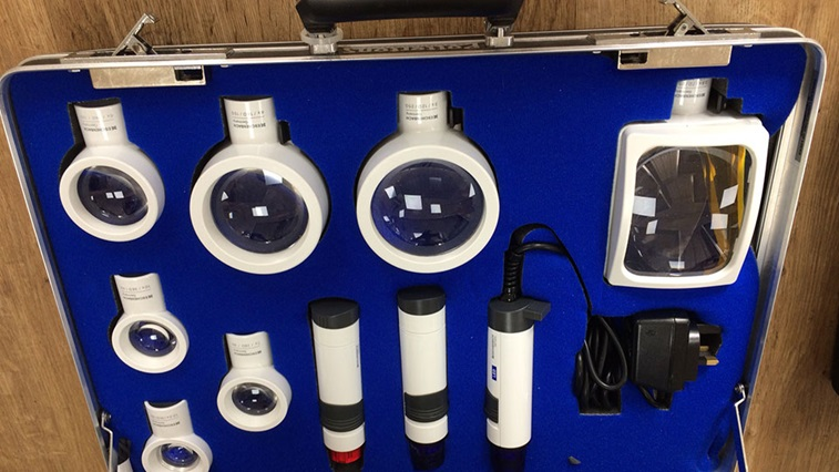 Low Vision Service Wales LVA kit