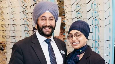Indi Singh and Jag Kaur