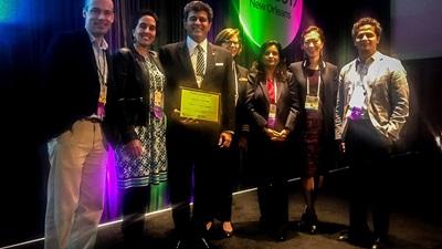 Sheraz Daya receives award