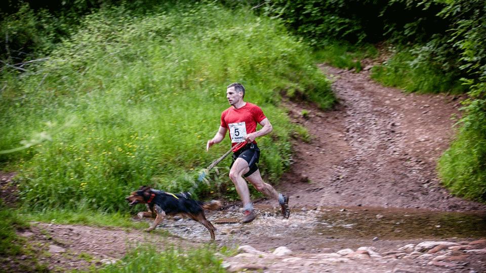 Michael and Phoenix running