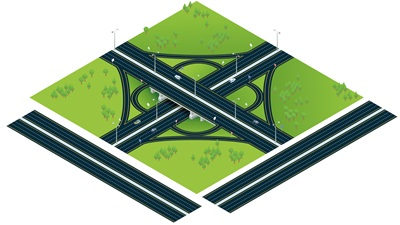 model motorway