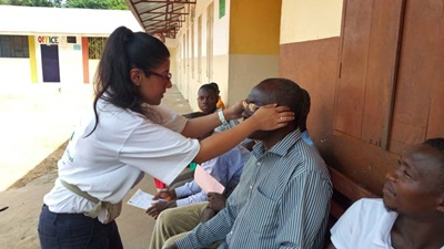Optometrist on VAO trip