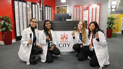 Nicole Hogan, Banuja Srikantharajah, Brooke Hutchins and Jeyasuji Jeyakumar