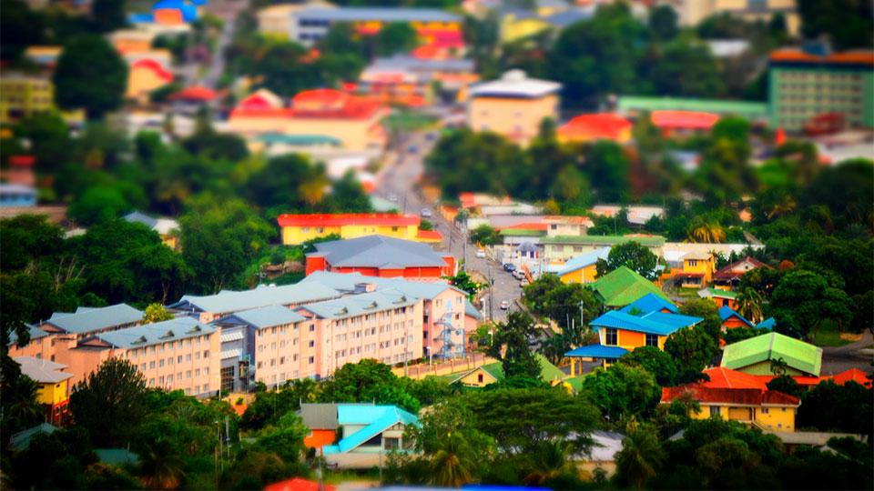Trinidad and Tobago town