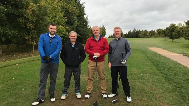 Edmonds and Slatter golf day