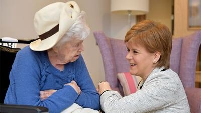 Nicola Sturgeon opens Royal Blind