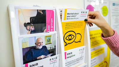 RNIB leaflets