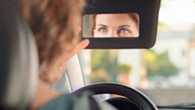 A women driving