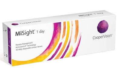 CooperVision MiSight contact lens