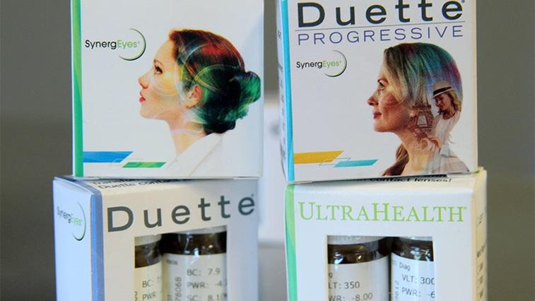 SynergEyes Duette Progressive lenses