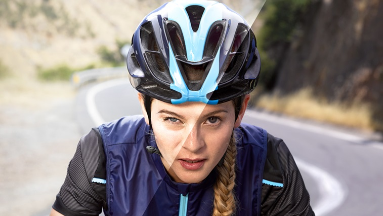 Acuvue Transitions cyclist