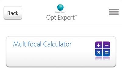 CooperVision OptiExpert