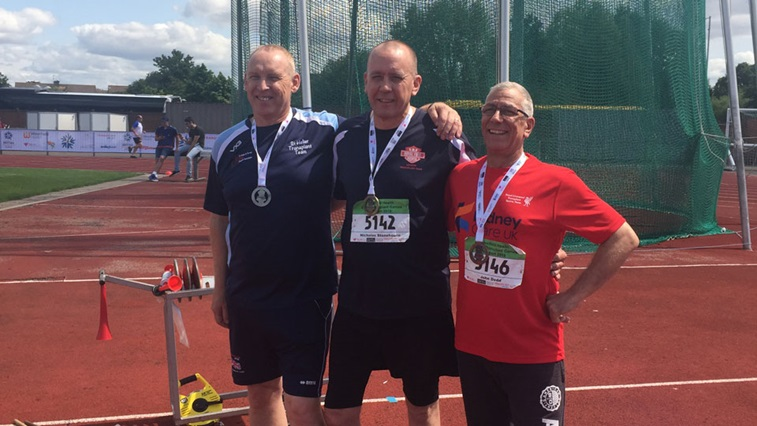 Nick Stonehouse at the World Transplant Games