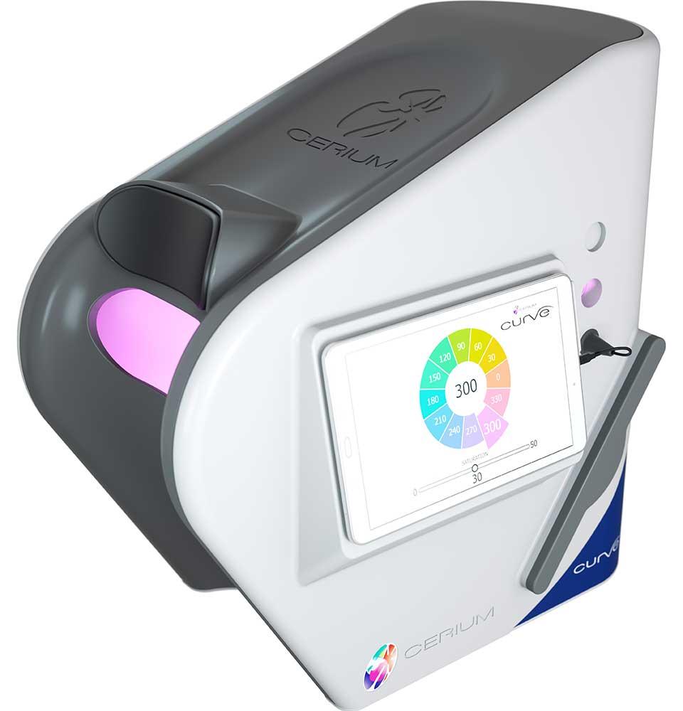 Cerium colourimeter