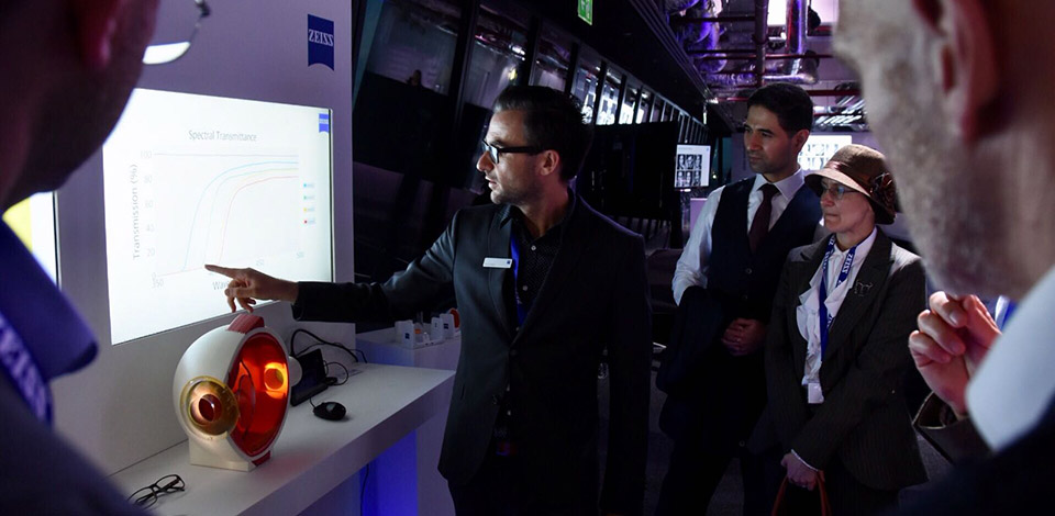 Delegates at Zeiss UVProtect event