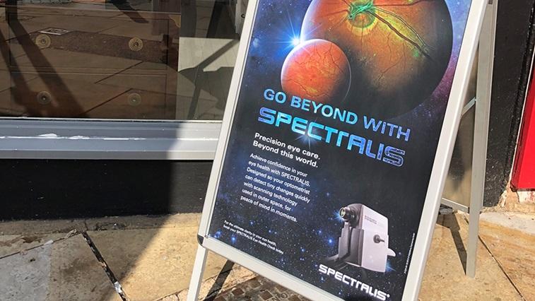 Heidelberg marketing sign