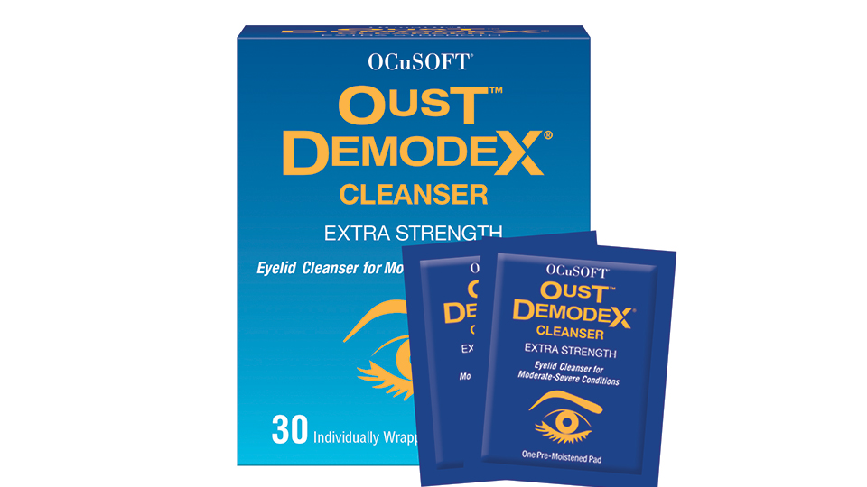 Demodex wipes