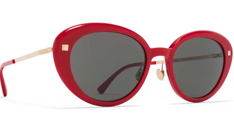 Mykita red glasses