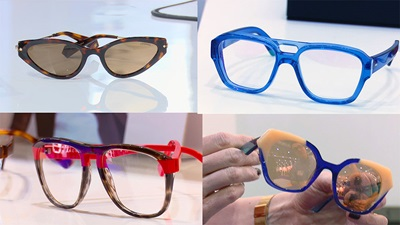 A selection of eyewear at 100% Optical