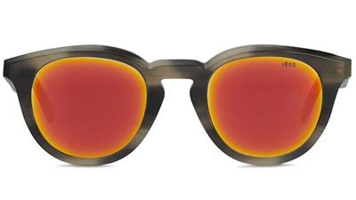 Black and orange sunglasses